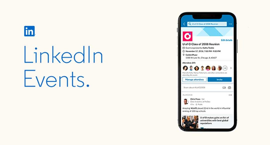 De nieuwe LinkedIn events, hoe werken ze?